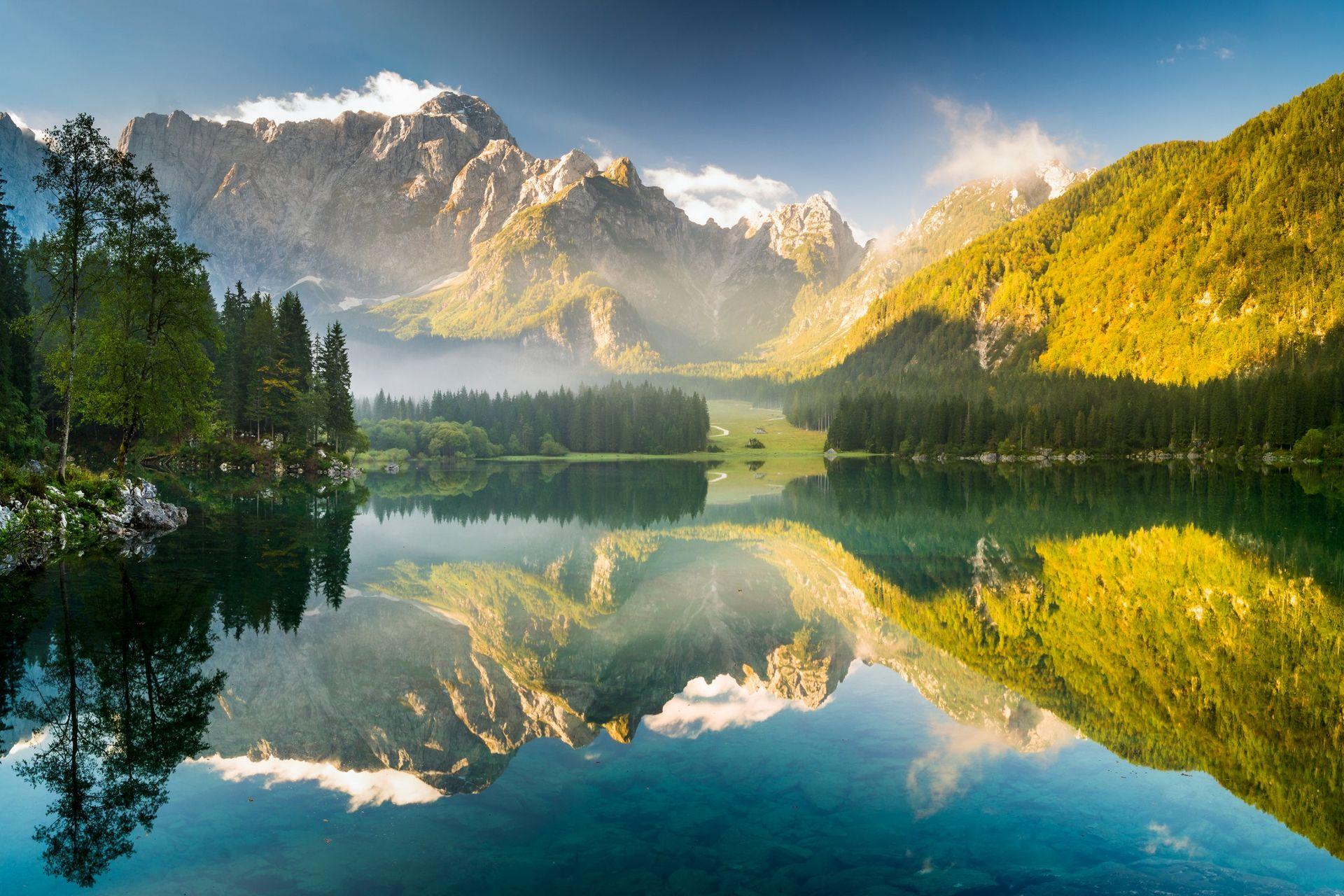 Словения: треккинг вокруг Бохиньского озера