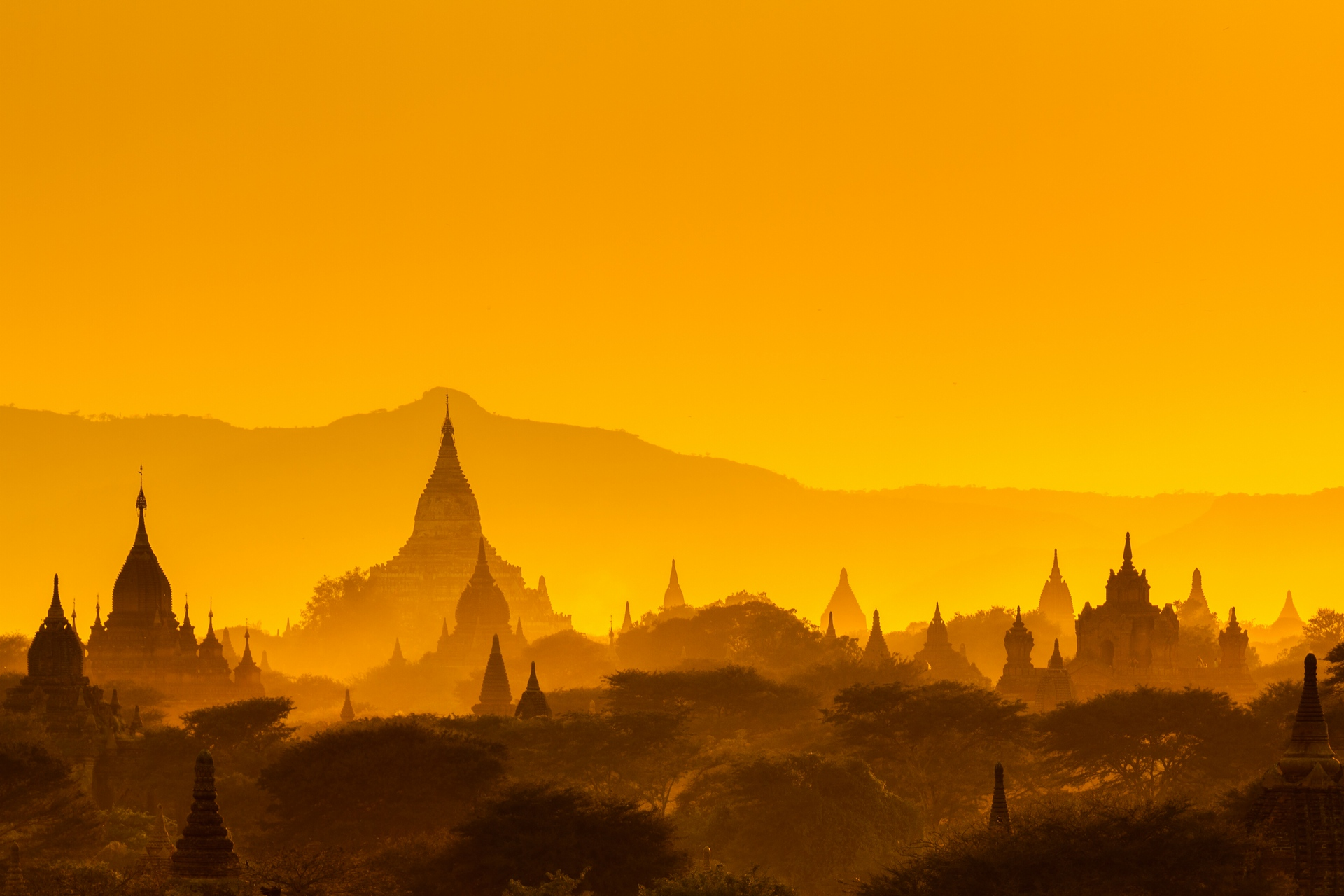 Бирма — новогодняя сказка