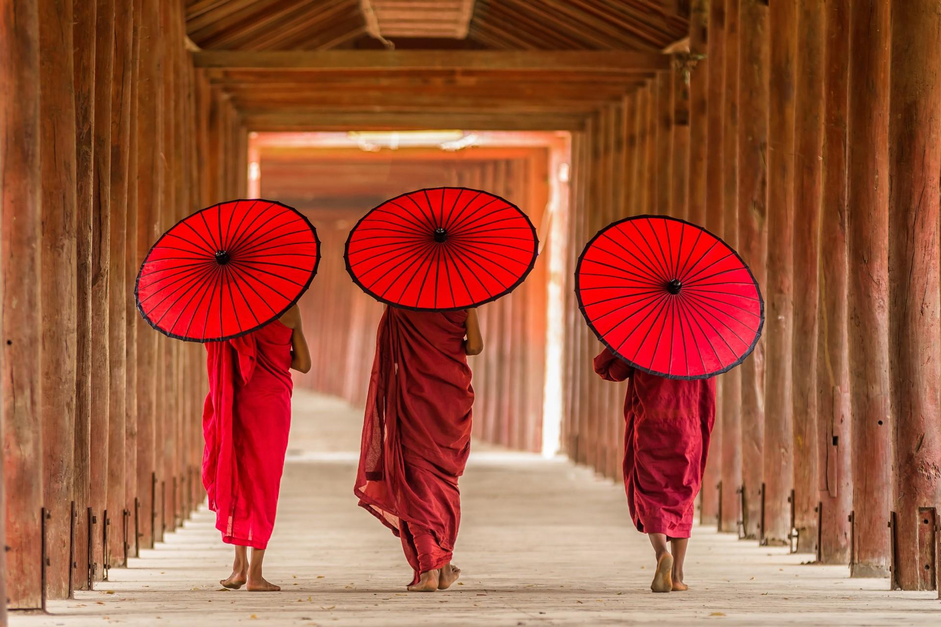 Бирма – золото, огни и племена