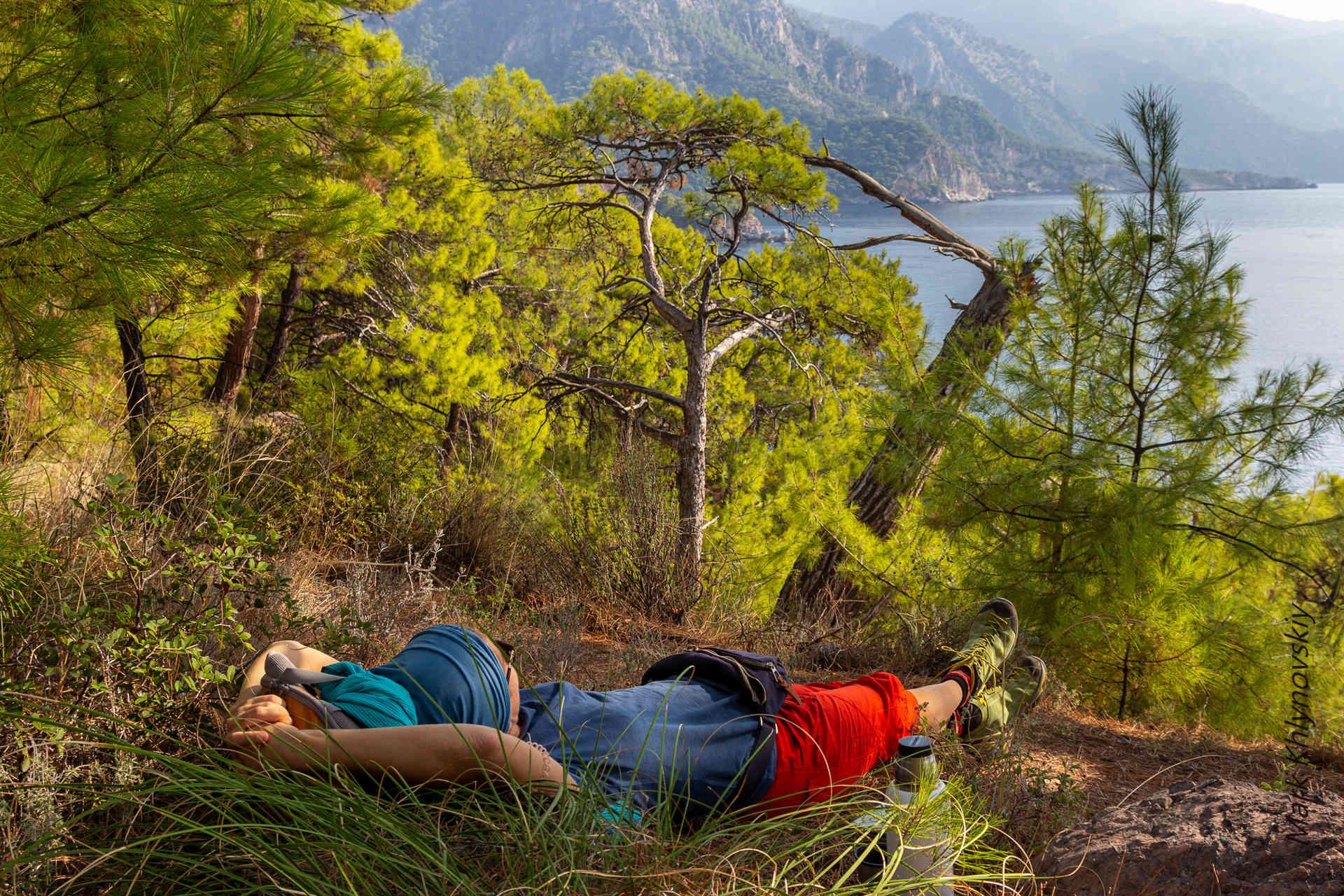 Ликийская тропа без рюкзаков и палаток