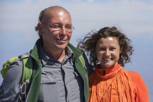 Марк Хлыновский и Анна Коваленко