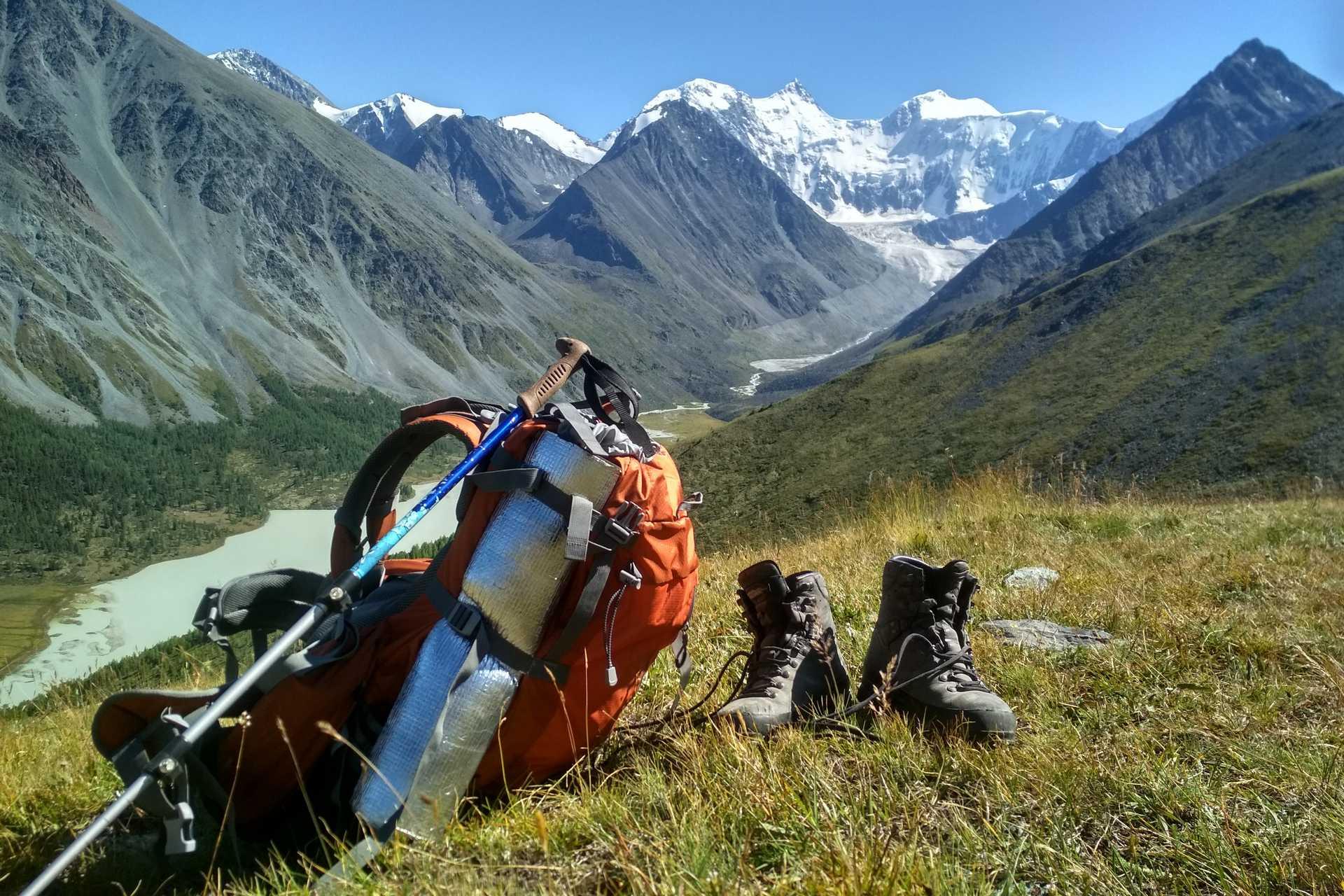 Алтай: поход к подножию Белухи и озеру Ак-Кем