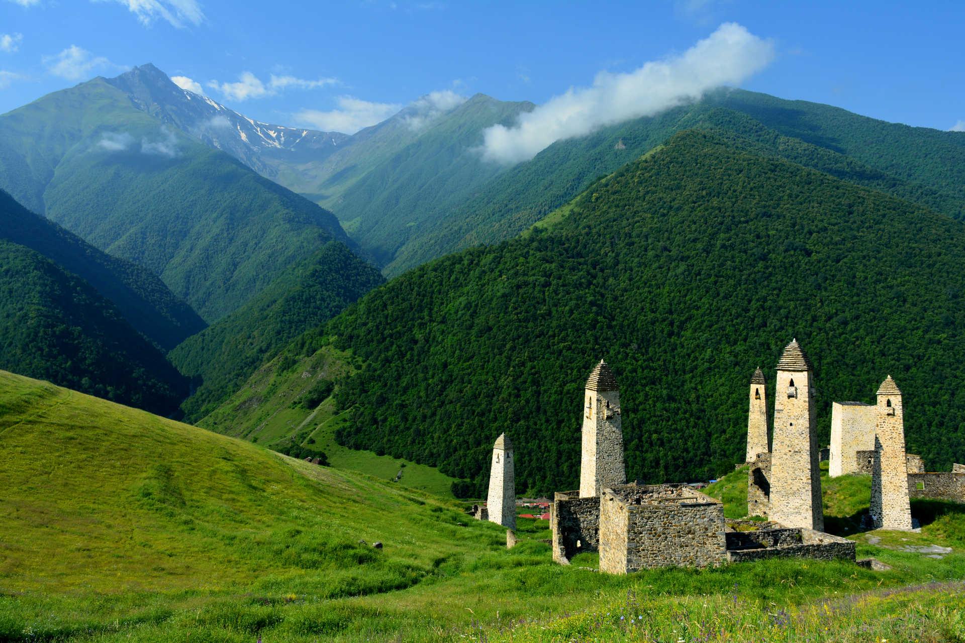 Зов гор: загадки Ингушетии и Северной Осетии