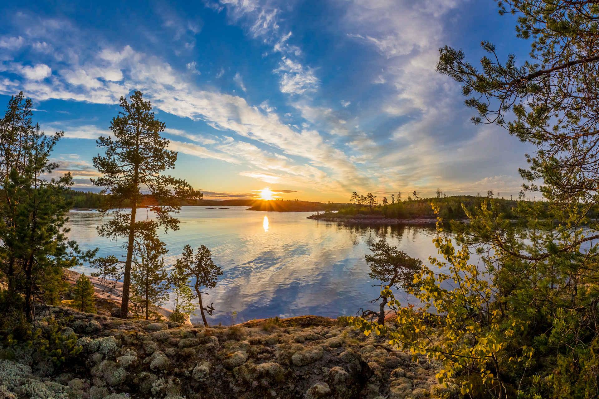 Карелия с севера на юг: леса, озёра и свежий ветер