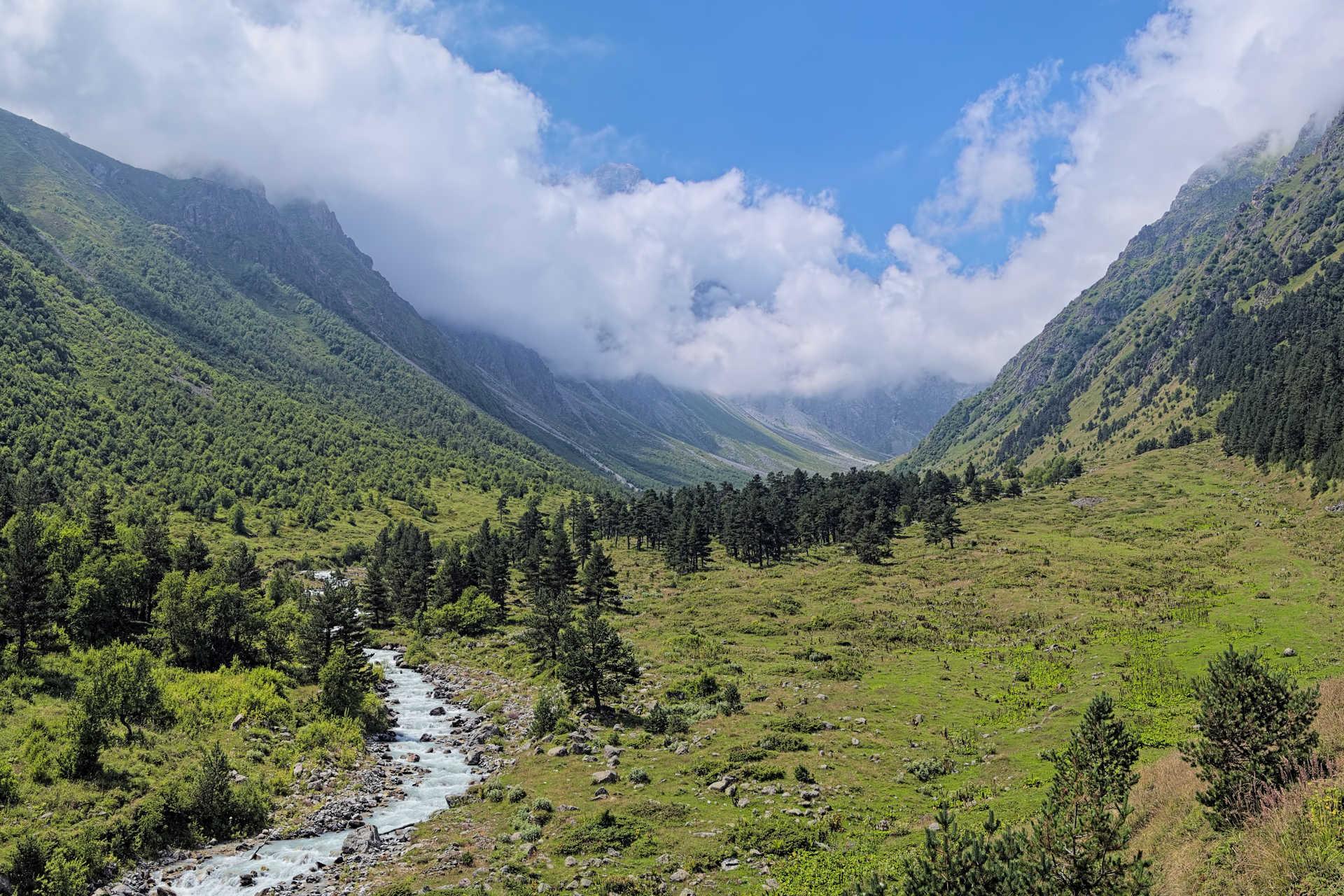 Поход по Центральному Кавказу