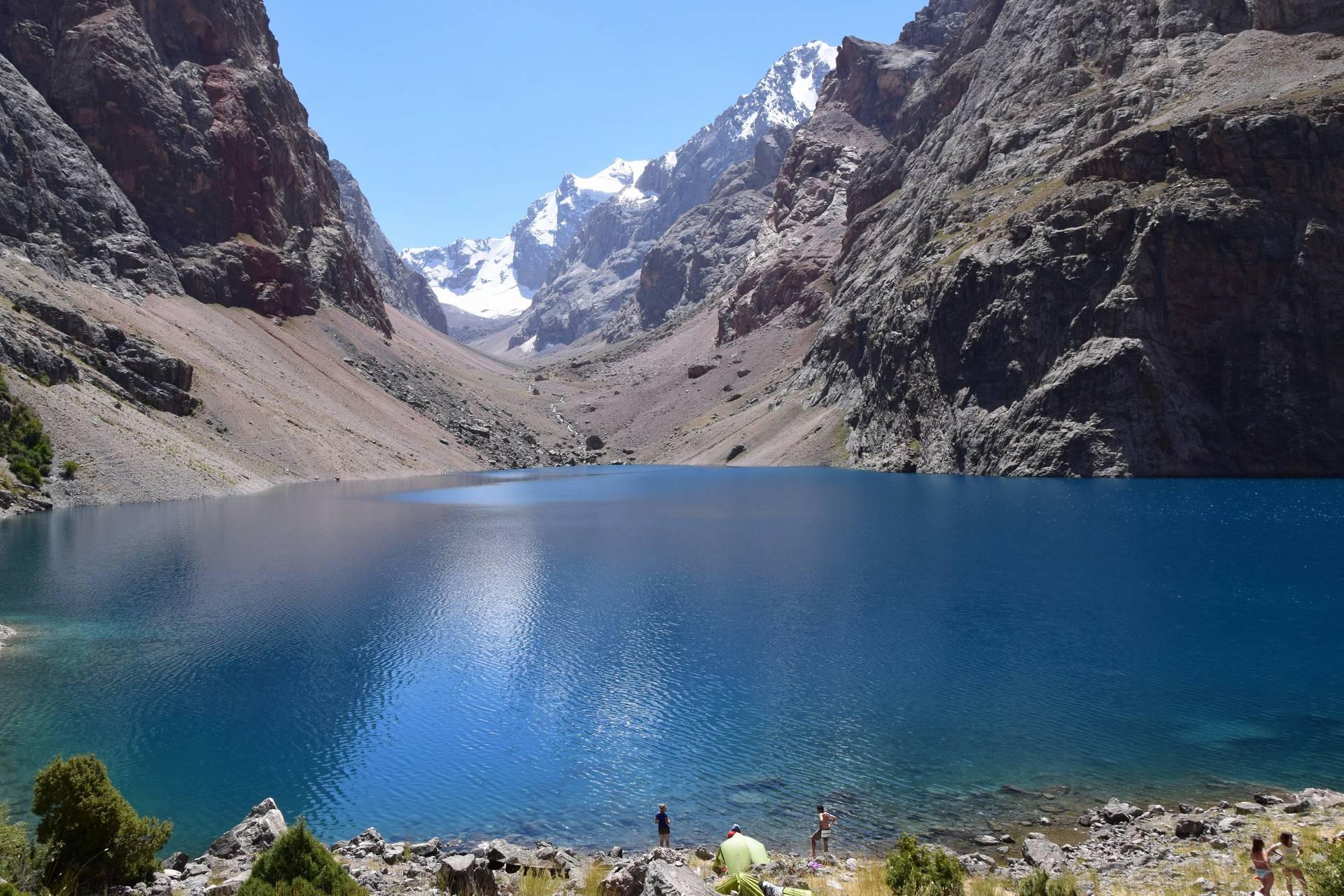 Таджикистан — поход в Фанские горы
