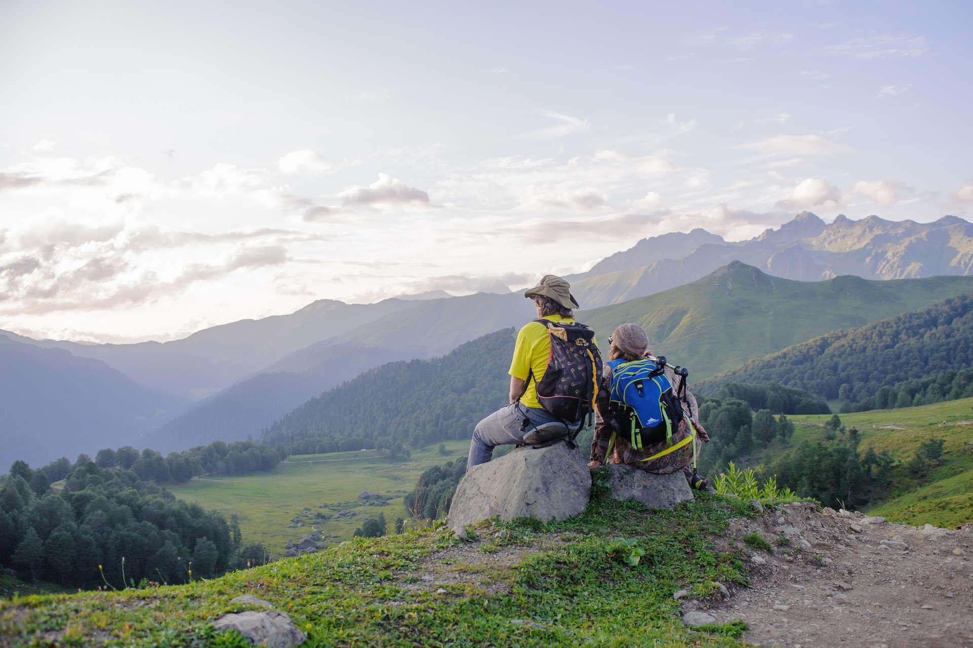 Абхазия: горы & море