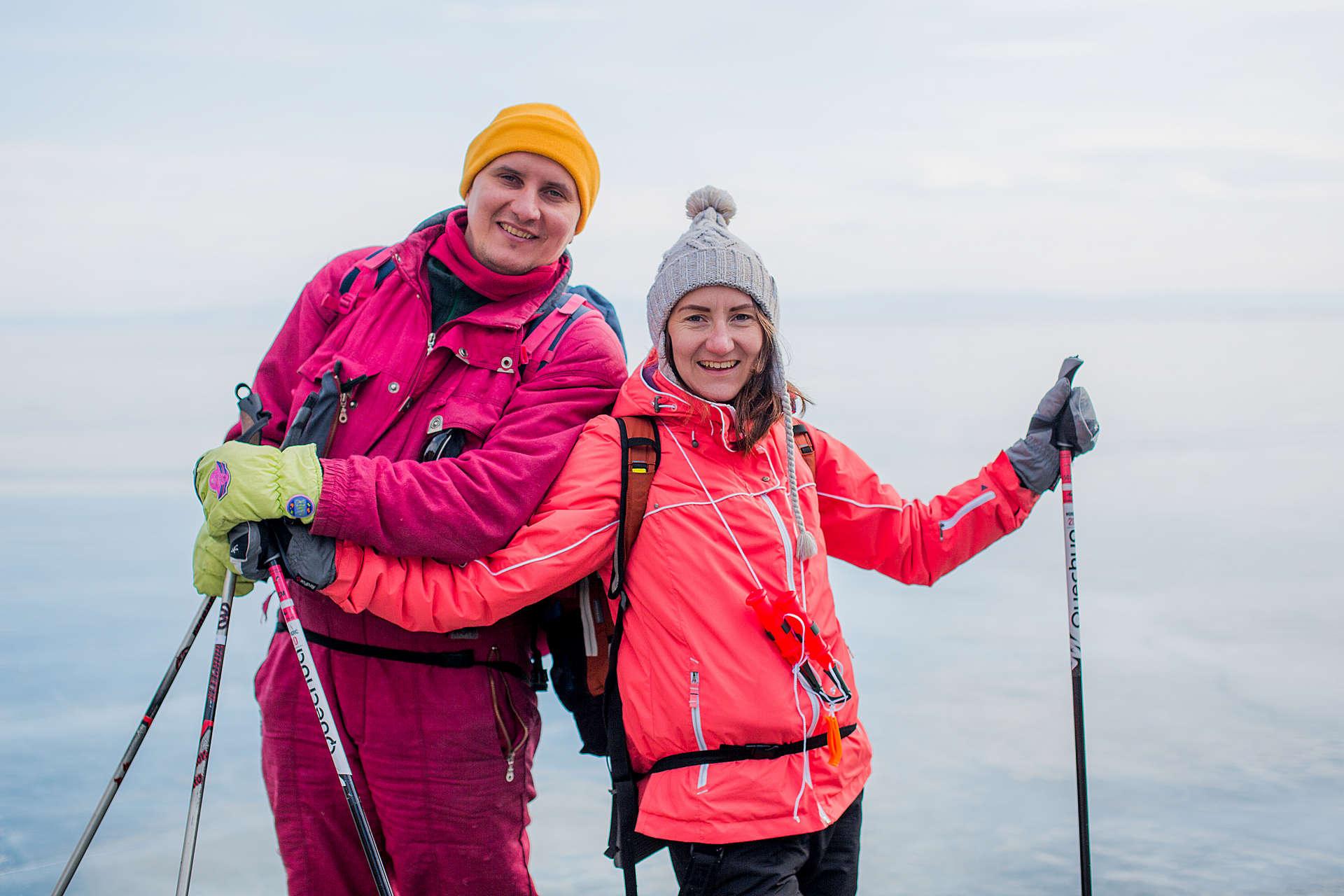 Ольга-Мария и Григорий Лапшины