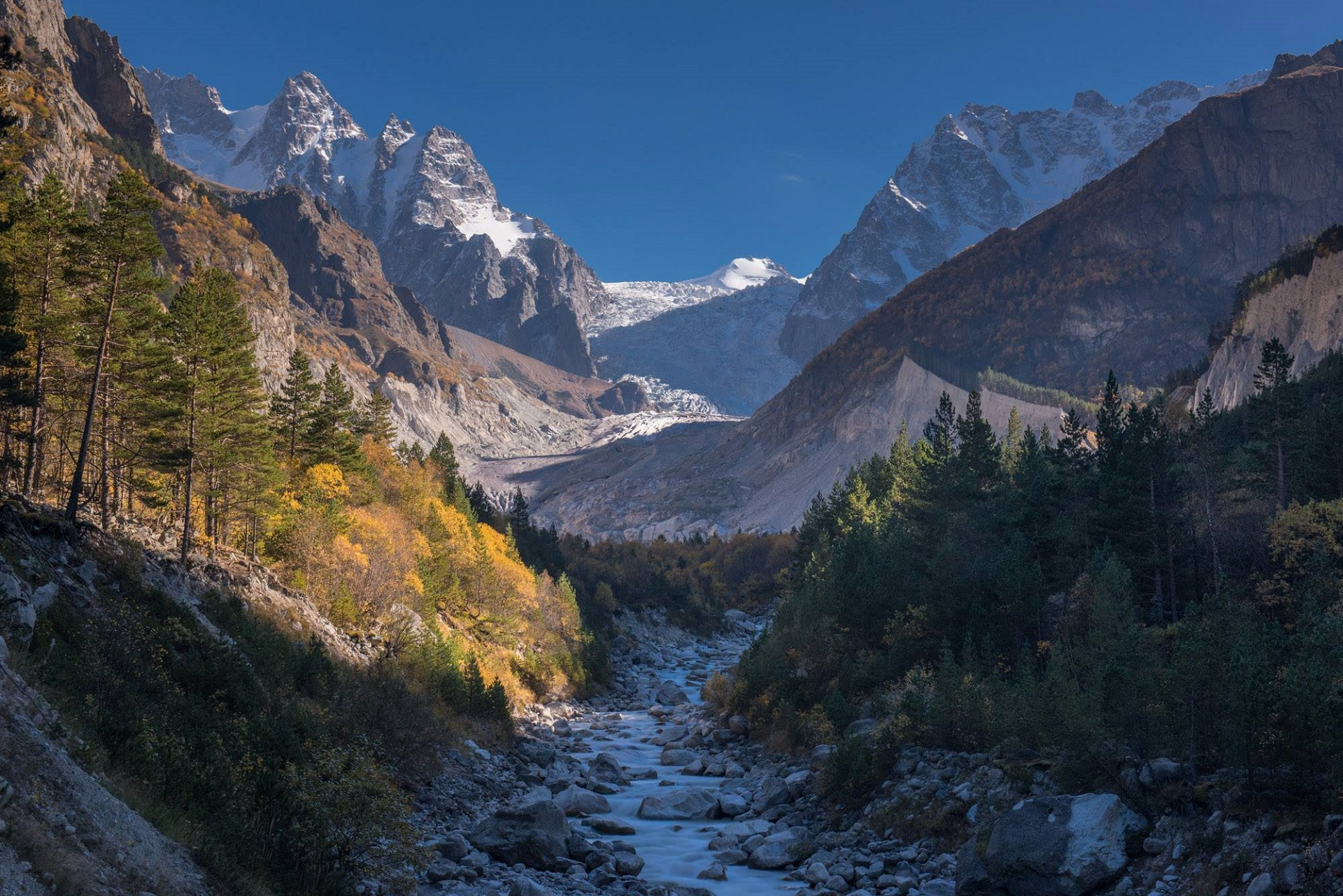Экспедиция в горную Осетию