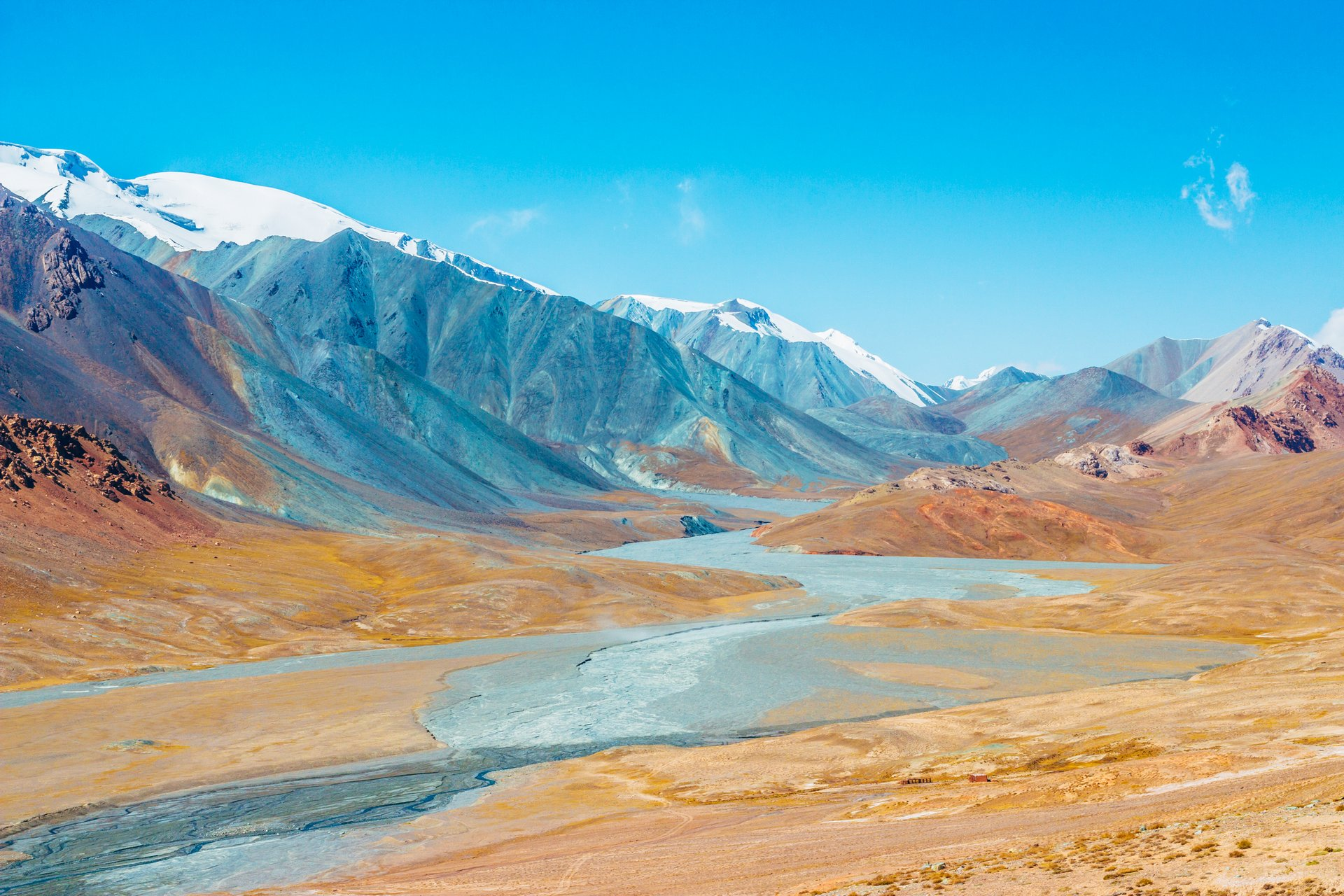 На джипах по Памирскому тракту