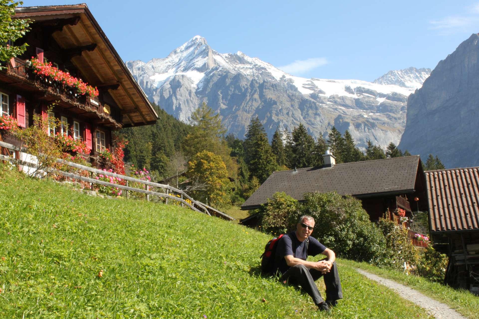 Швейцария – золотая осень в Альпах