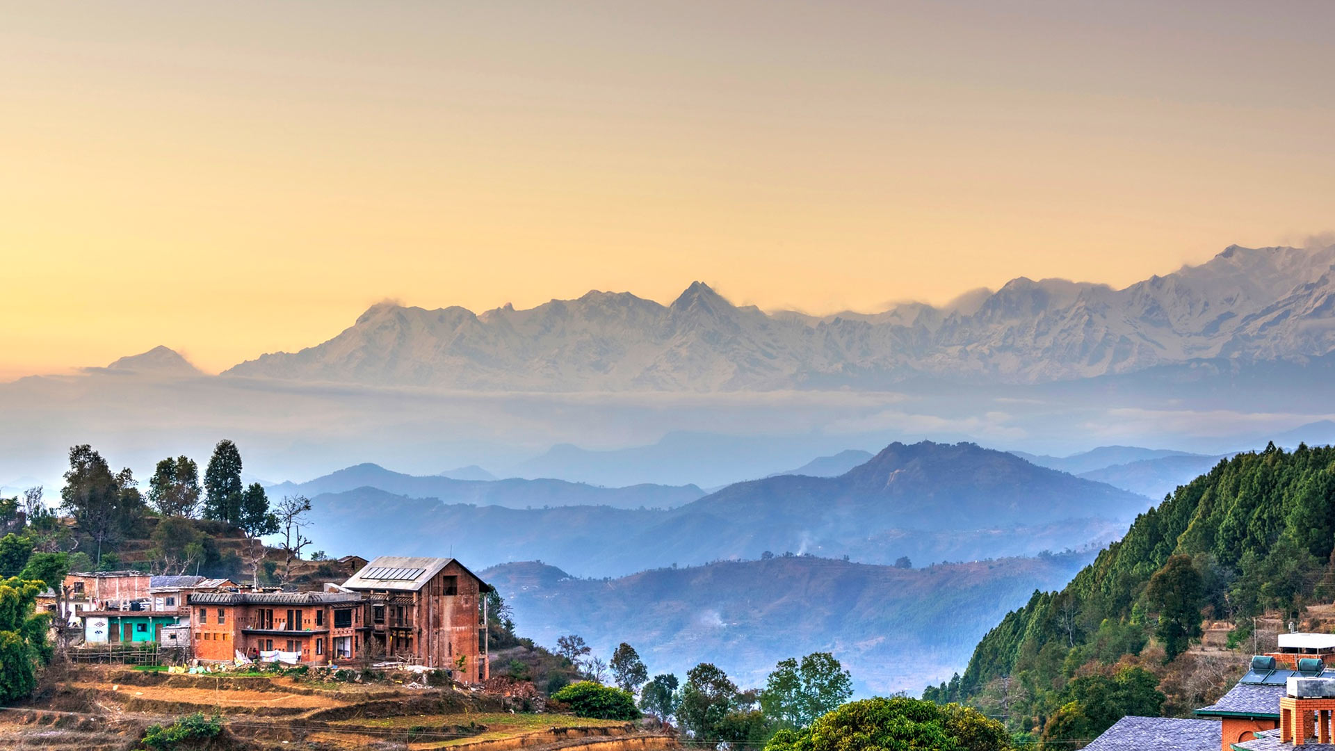 Непал налегке