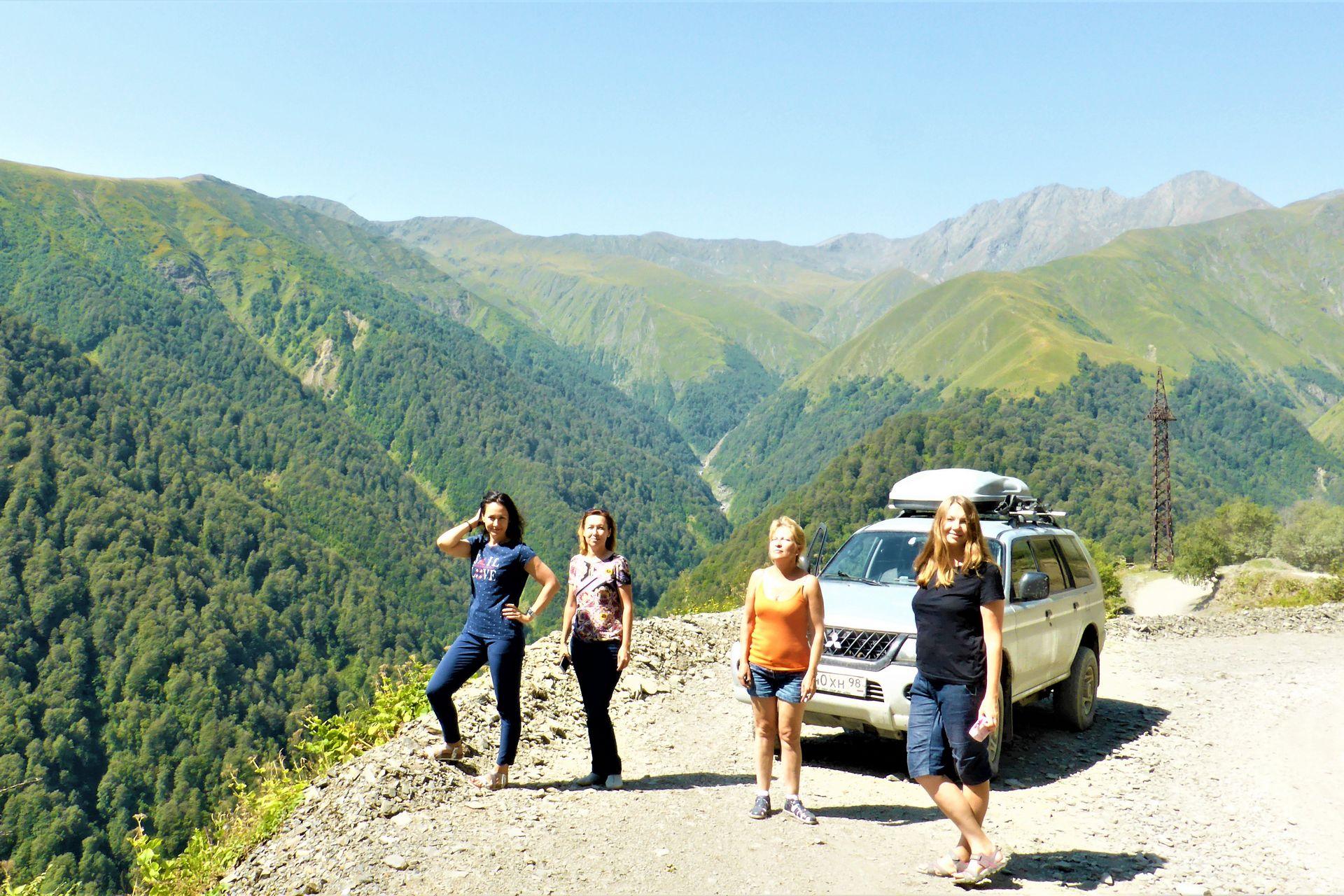 Грузия – по горам на полном приводе: легенды Хеви, Хевсурети и Тушети