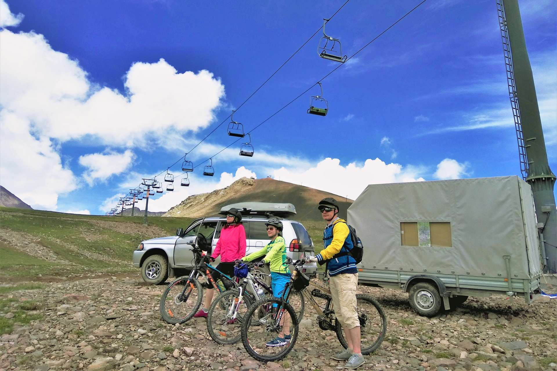 Грузия на велосипедах: по следам Прометея
