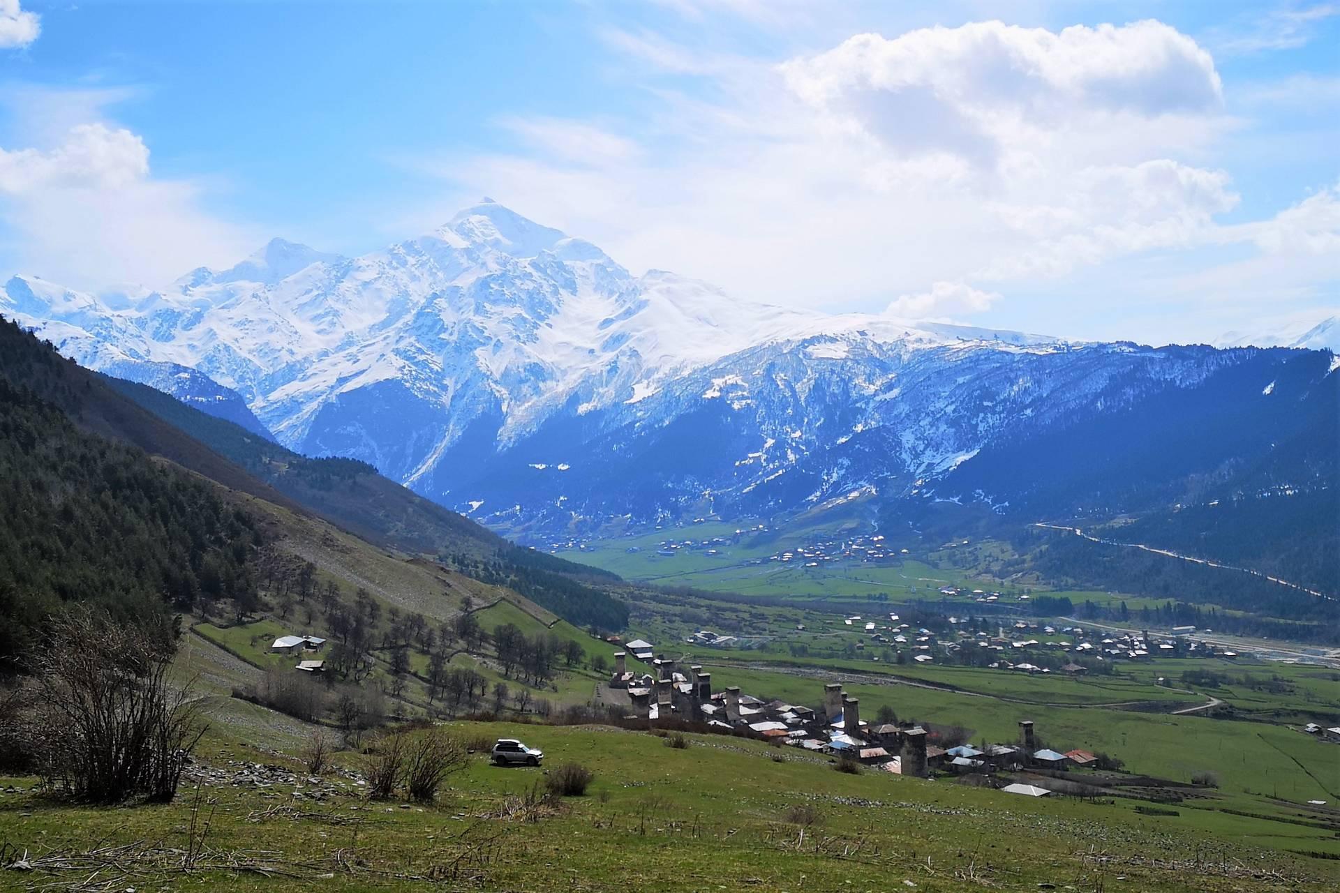 Грузия на внедорожнике: башни, ледники и пятитысячники Сванети