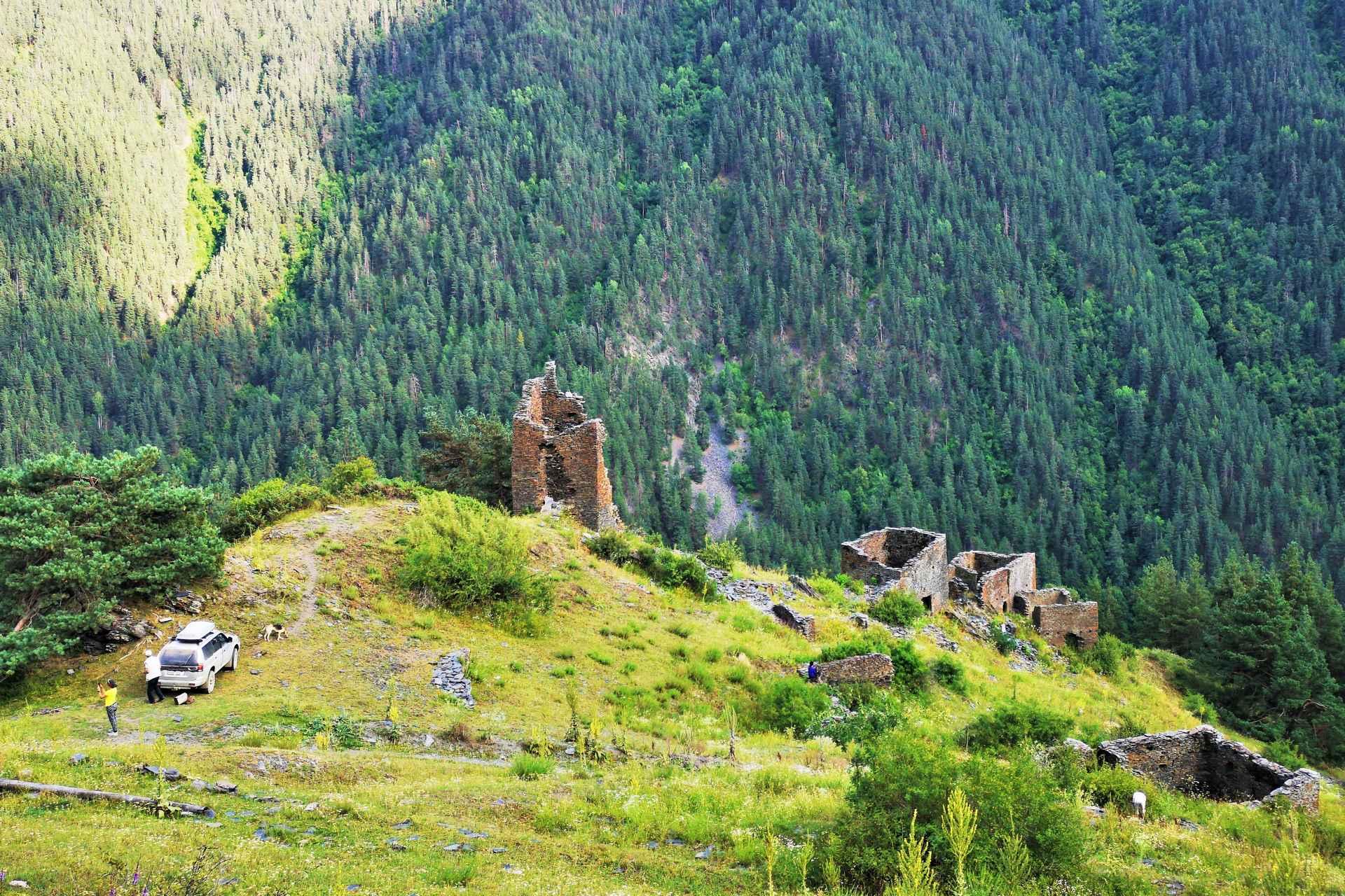 Грузия – по горам на полном приводе: легенды Хевсурети и Тушети
